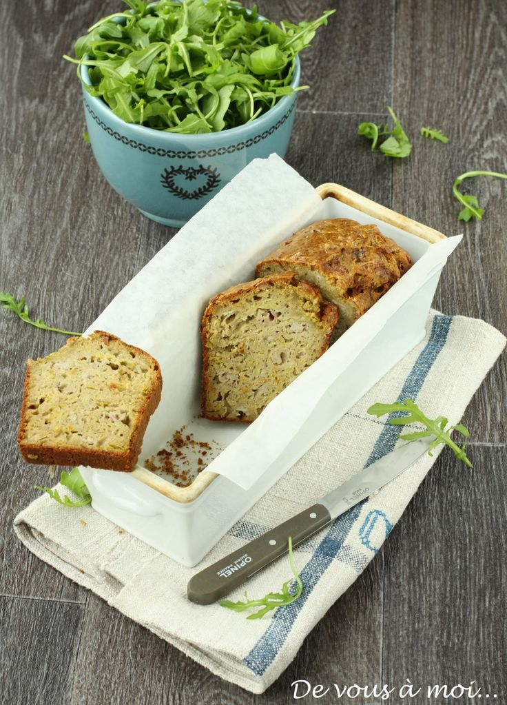 De vous à moi...: Breizh Cake: Cake Poireaux, Andouille au Sarrasin