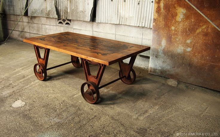 1000 Images About Diy Industrial Furniture On Pinterest
