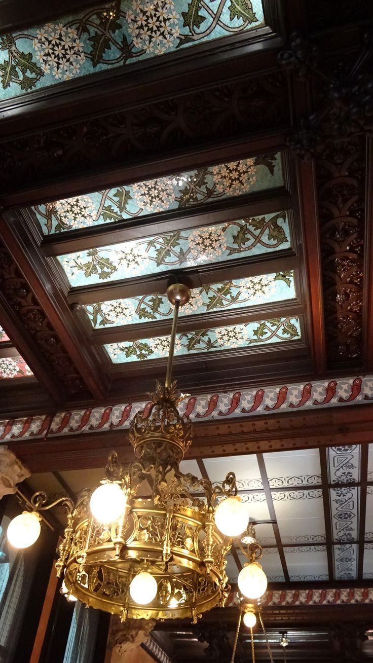 https://flic.kr/p/yD5ep1 | Sostre del Restaurant España a l'Hotel España, Barcelona