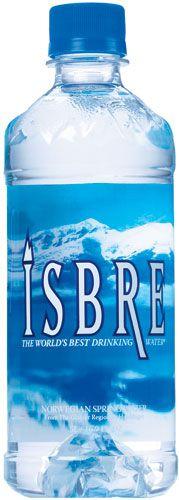 Isbre Bottled Water