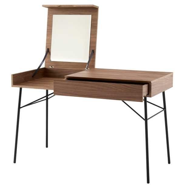 asymmetrical dressing tables and writing desks for small spaces contemporary furniture design