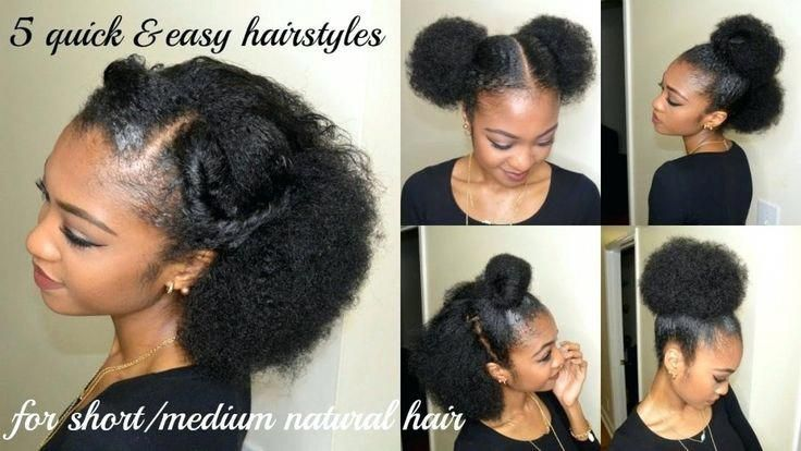 Awesome Braided Hairstyles For Short Hair Step By Step Dailymotion Awesome Braided Da Natural Hair Styles Natural Hair Styles Easy Medium Hair Styles