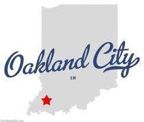 Oakland City, Indiana  Home of my alma mater, OCU!