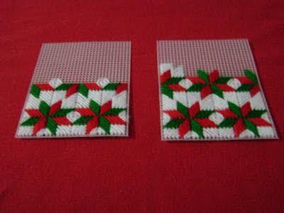 Resultado de imagen para malla plastica y rafia navideñas