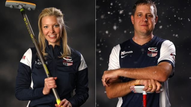 Nina Roth Y Juan Shuster Ganar Olímpico De Curling De Puntos En Un Nailbiting Ensayos