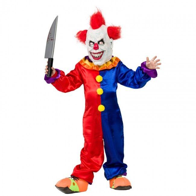 Déguisement Clown Diabolique garçon #costumespetitsenfants #nouveauté2017