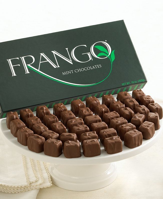 MARSHALL FIELD'S Frango Mints...it's a Chicago thing!  Many fond memories of getting Frango and Fannie May in Chicago!