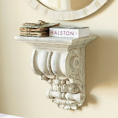 Ballard Designs La Maison Corbel Shelf.