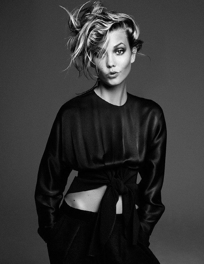 Студийные фото известных моделей