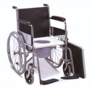Kursi Roda 2in1 FS609    Kursi roda FS609 ini diproduksi di Cina dan didatangkan ke Indonesia melalui Importir Kursi Roda dan telah didaftarkan sebagai alat bantu jalan kursi roda. Bagian kaki (foot step) kursi roda ini terbuat dari bahan plastik berwarna hitam. Dudukan kursi roda terbuat dari bahan kulit oscar (kulit imitasi) yang mudah dibersihkan/dilap.