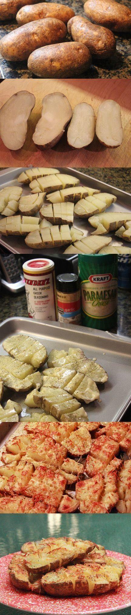 Seasoned Roasted Potatoes - Love with recipe