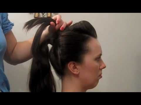 Geisha hairstyle for New Year's eve party