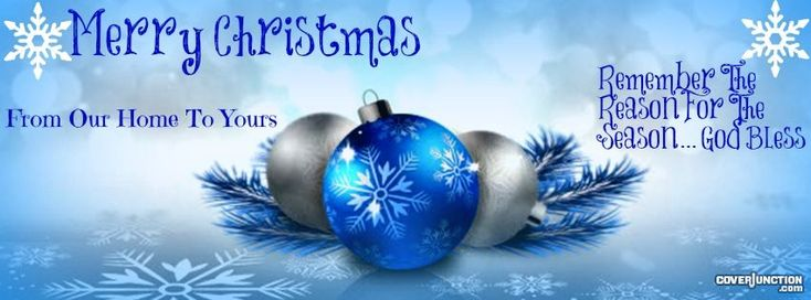 Merry Christmas Facebook Cover - CoverJunction