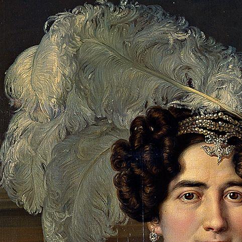 Vicente Lopez y Portana: Antonio Ugarte e la sua sposa Maria Antonia Larrazàbol. Olio su tela, del 1833. Museo del Prado.