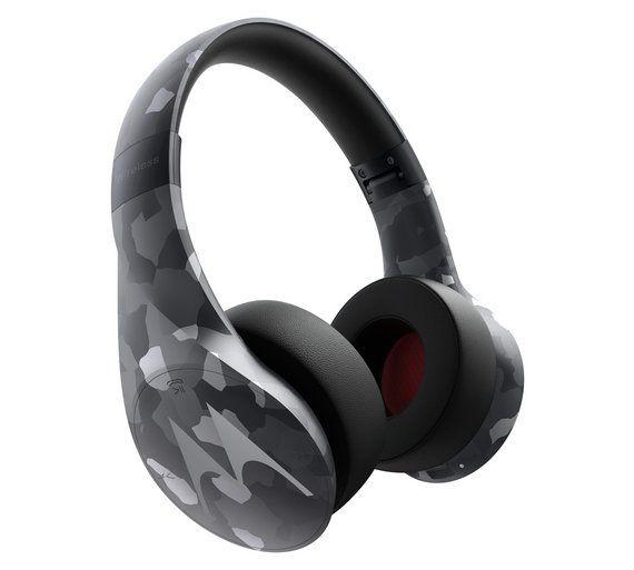 Motorola Pulse Escape Over Ear Wireless Headphones Camo Wireless Headphones Headphones Noise Isolation