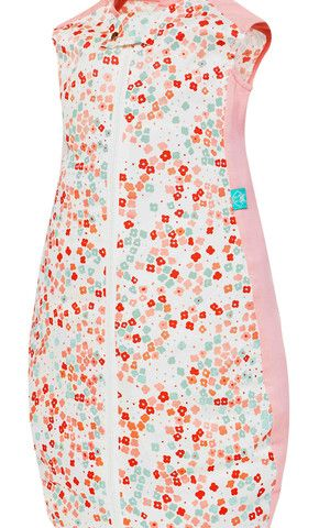 Baby Sleeping Bag - Summer TOG 0.3 Pink Flower – Baby Luno