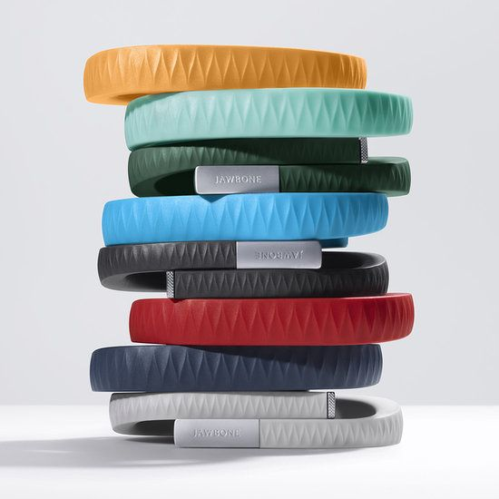 Jawbone UP. This cute bracelet connects to the UP ap and monitors all your activity and sleep. It even provides you with helpful hints on how to improve your health, my new favorite gadget!