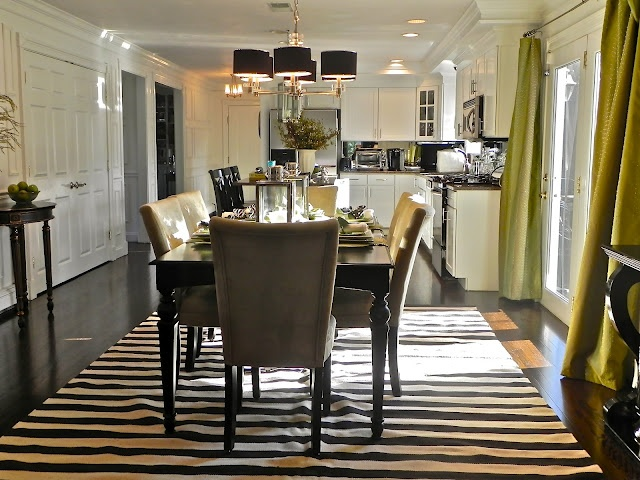 .Dining Room, Curtains, Amazing Spaces, Dinning Room, Rugs, Beautiful Room