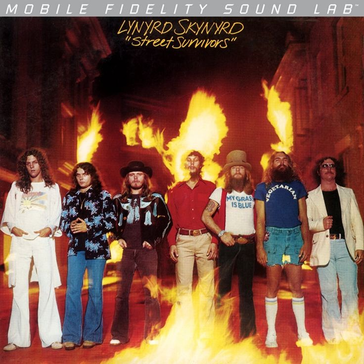 LYNYRD SKYNYRD - STREET SURVIVORS (NUMBERED LIMITED EDITION Vinyl LP)