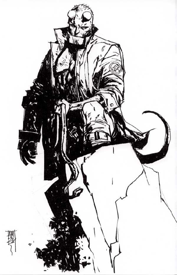 Hellboy by Alex Maleev *