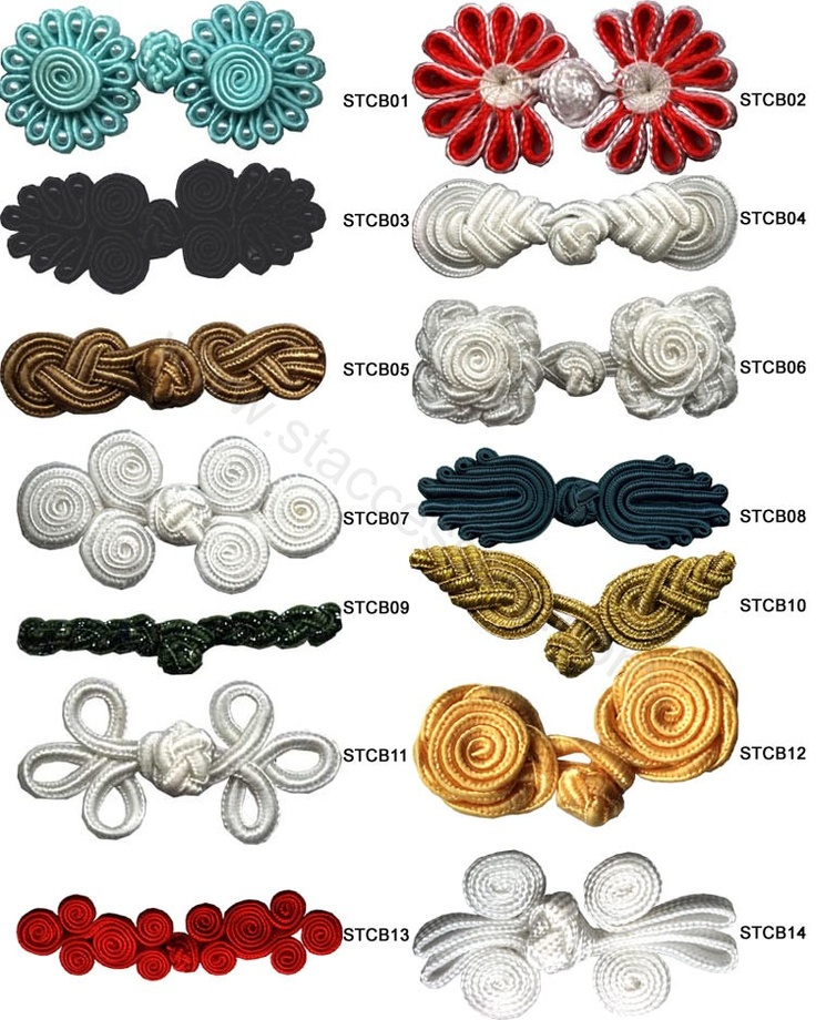 Chinese buttons