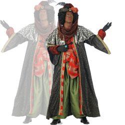 Disfraz Deluxe Rey Baltasar.  Original Disfraz de Rey Baltasar.  Si te gusta en 24 horas está en tu casa.