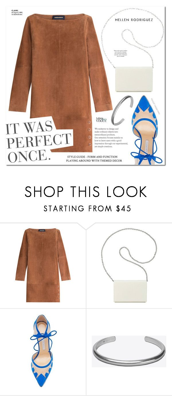 """PaGe 13/08"" by lali22 ❤ liked on Polyvore featuring Vanessa Seward, Nine West, Bionda Castana and Maison Margiela"