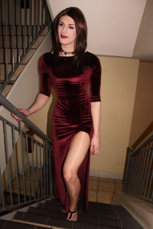 from Holden cross dress dressing gown tall transgender transsexual transvestite