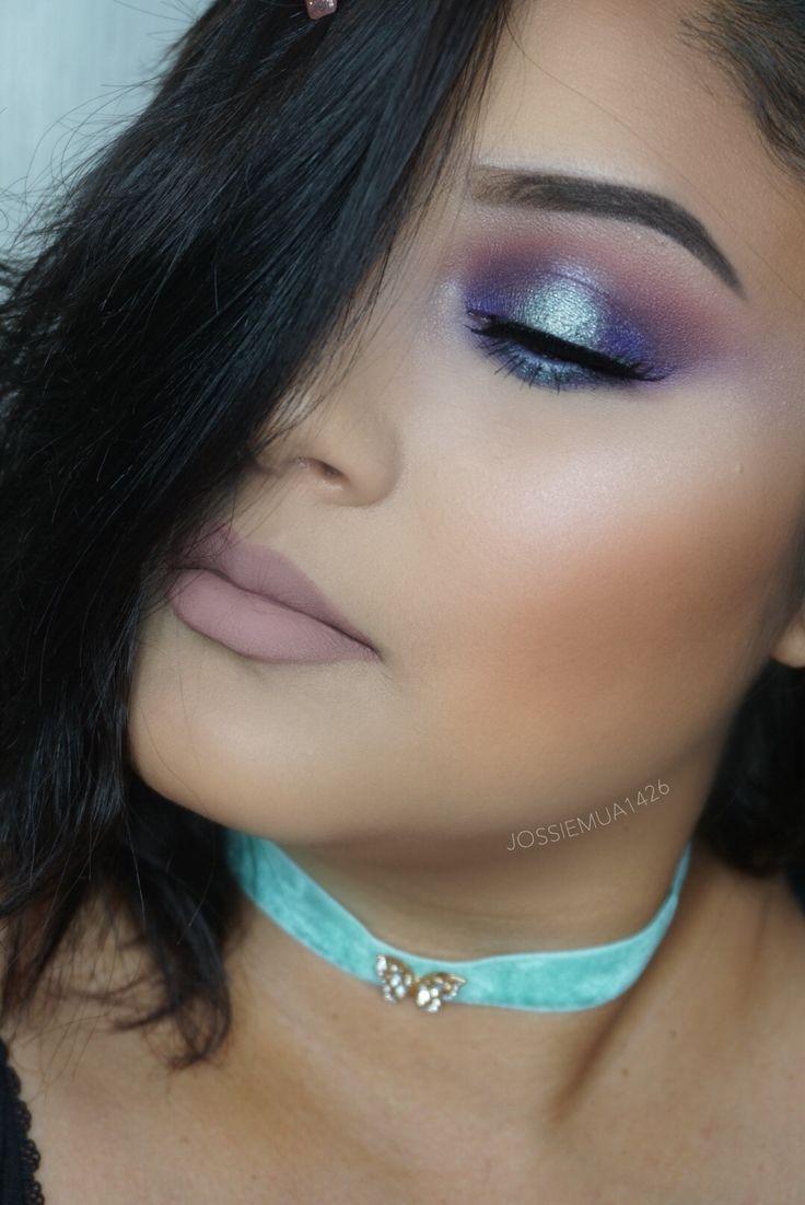 jaclyn hill palette morphe  Jaclyn hill palette look  blue vibes #blueeyeshadow #shadows #makeup #jaclynhill #morphebrushes