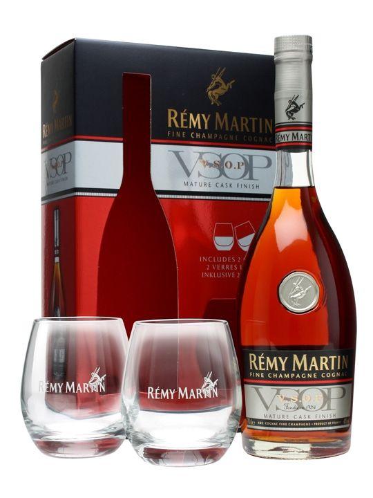 Remy Martin VSOP Mature Cask Cognac / Glasspack