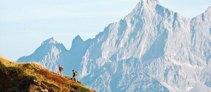 Altenmarkt-Zauchensee Sommer wandern Bergtour Dachstein