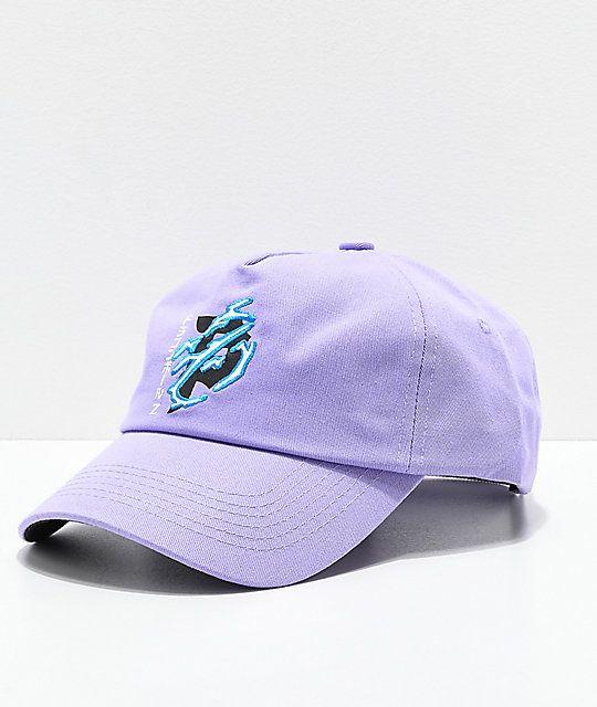 42c3472f1 Primitive x Dragon Ball Z Dirty P Lightning Lavender Strapback Hat ...