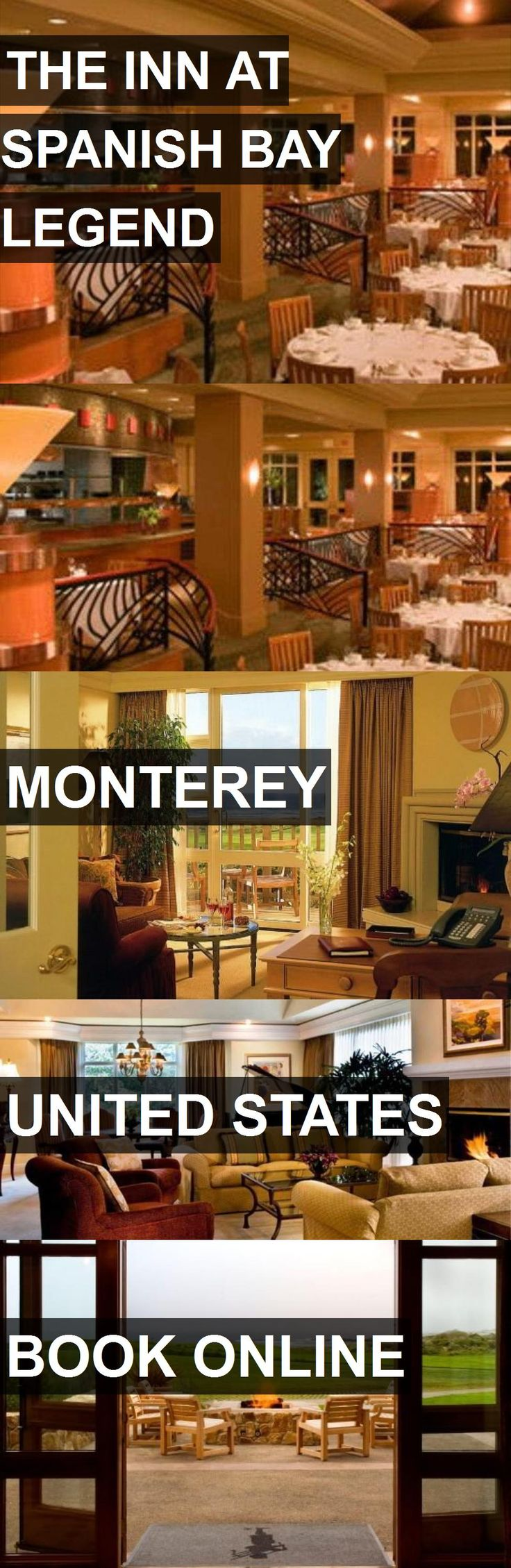 San Jose Monterey Map%0A Hotel THE INN AT SPANISH BAY LEGEND in Monterey  United States  For more  information