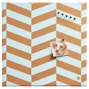 Our Chevron Cork Board is sure to make waves any where you use it. The generous…