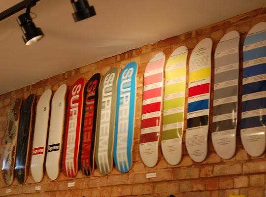 supreme skateboard decks