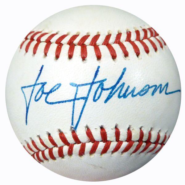 Joe Johnson Autographed Official AL Baseball Blue Jays PSA/DNA #AC23107