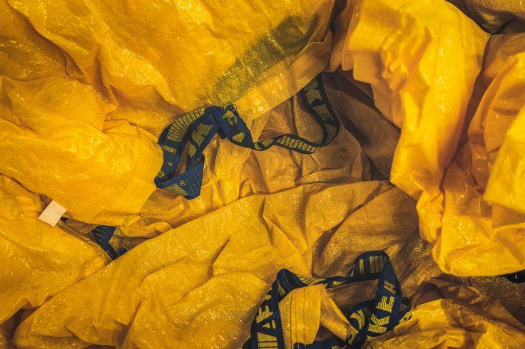 https://flic.kr/p/Hnnsqy | IKEA's shopping bags.