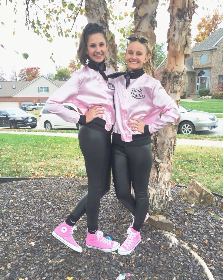 pink ladies teen halloween costume what a cute costume to wear alone or with a friend - Cute Ideas For Halloween