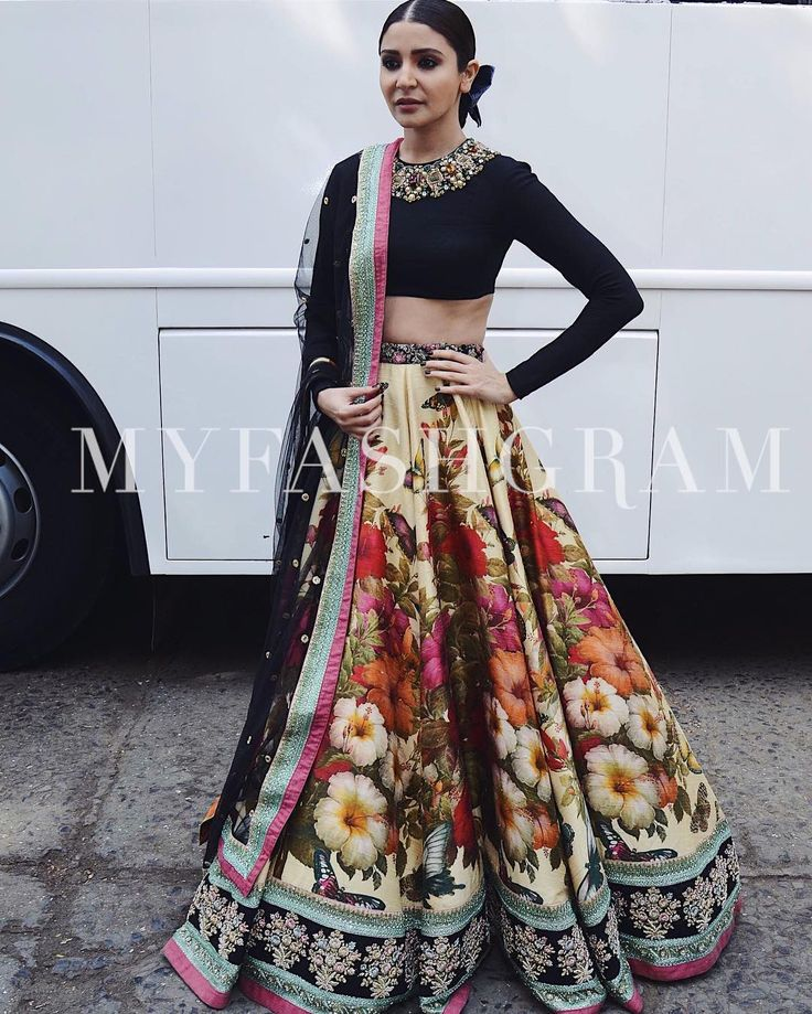 "460 Likes, 3 Comments - MyFashgram (@myfashgram) on Instagram: ""@anushkasharma looks like a dream in this @sabyasachiofficial lehenga Double tap if you love it…"""