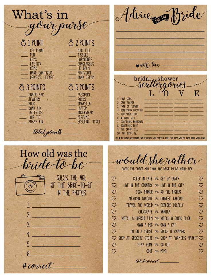 25 cute bridal shower activities ideas on pinterest bridal party games couple shower games. Black Bedroom Furniture Sets. Home Design Ideas