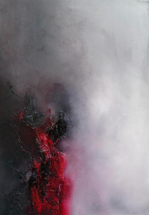 """Taraneh Ebrahimi – """"Untitled"""" [Oil Paint on Canvas] Be Sure To Visit: http://universalthroughput.imobileappsys.com/"""