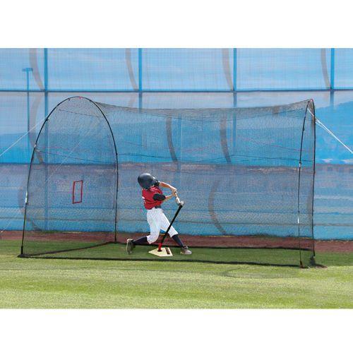 Homerun Lite Ball Batting Cage Excellent Backyard Baseball Practice