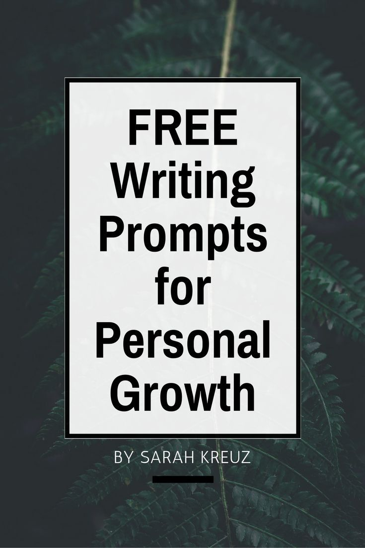 31 Personal Growth Journal Prompts
