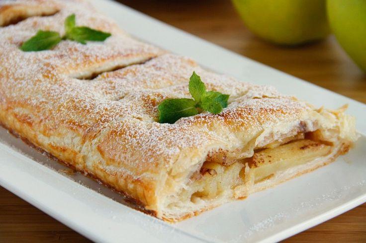 Tarta de manzana express - MisThermorecetas