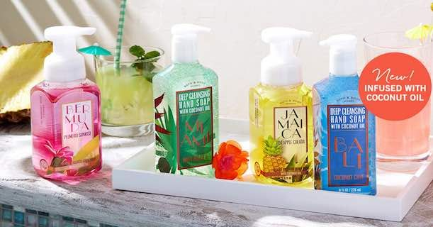 Bath & Body Works: Score Hand Soaps For Only $2.60 Each Shipped!