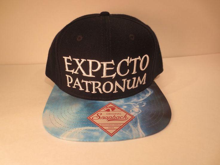 Harry Potter Expecto Patronum Hat Cap Snapback Costume Cosplay Comics RARE Hat #HarryPotter #BaseballCap