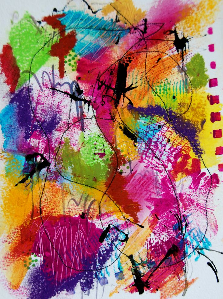 17 best images about teaching mark making on pinterest for Abstract art definition for kids