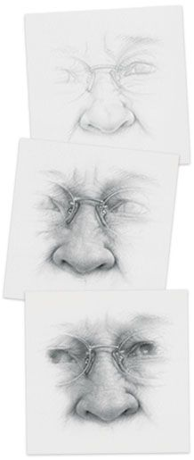 how to draw a nose gabrielle brickey