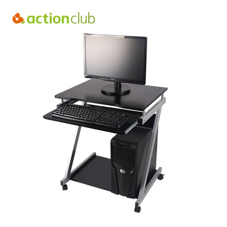 Actionclub Adjustable Computer Desk Domestic Shipping About 7 days Movable Mute Sliding Keyboard Tray Inexpensive Home Office