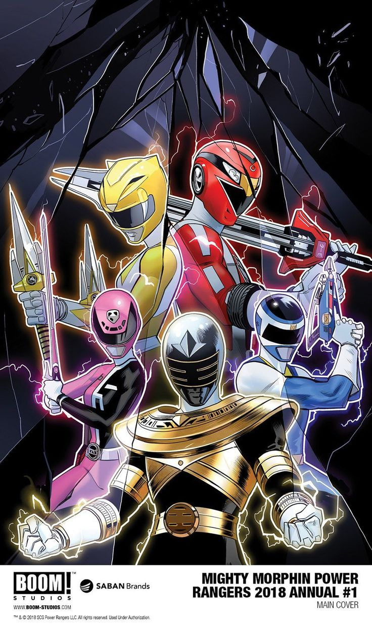 Mighty Morphin Power Rangers 2018 Annual' #1 Reveals Even More Teams For Shattered Grid Crossover